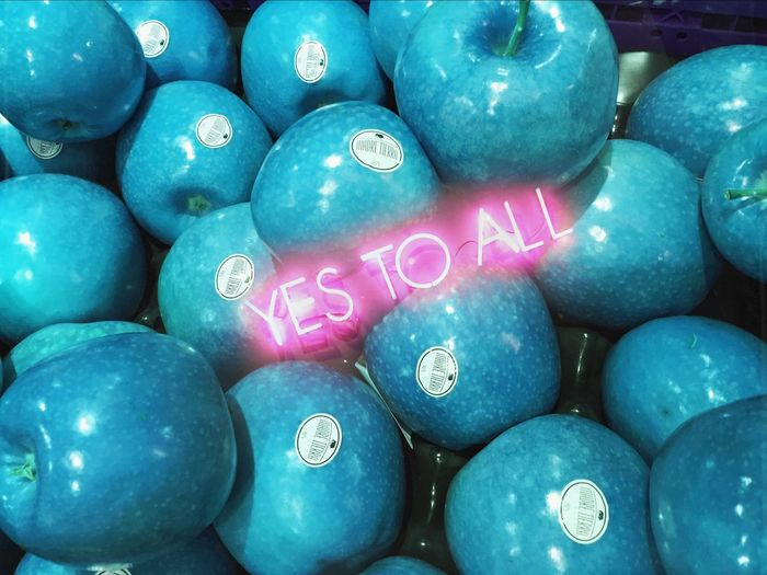 Yes To All SuxsieQ Blue Neon Lights