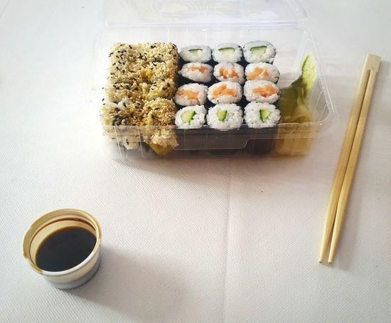 Food And Drink Freshness Sushi Food Indoors  Ready-to-eat No People Hanging Out Enjoying Life