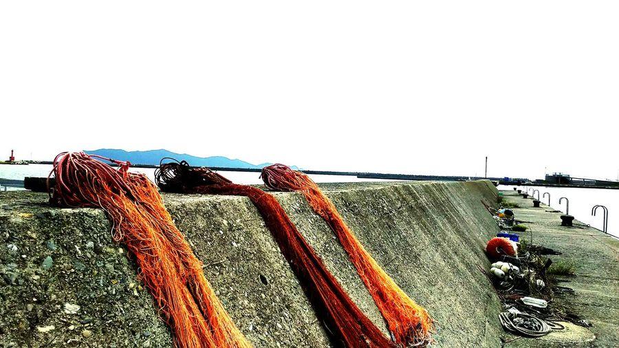 Fishing Nets Fisherman's Town Sea Scenery 五島列島