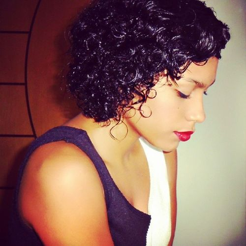 RePicture Femininity Model Red Afro Curls