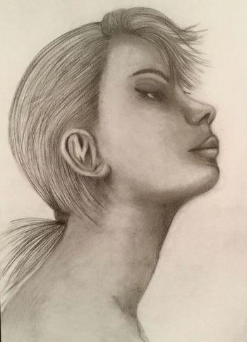 Pencil Pencil Drawing Pencil Art One Woman Only Face Woman Drawingpencil Matitabiancoenero Drawingtime Matita Grey Disegno Disegno Matita