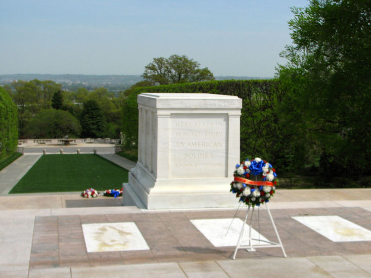 Tomb of the Unknown Soldier Arlington National Cemetery Hallowed Ground Memorial Outdoors Remembrance Respect Solitude Tomb Of The Unknown Soldier Tree Washington, DC