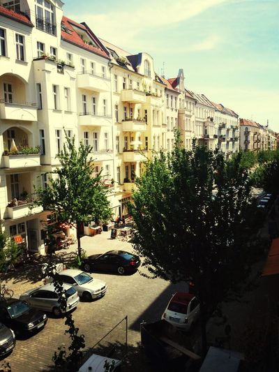 Enjoying the view from her room Hanging Out Hello World Prenzlauerberg Prenzelhood