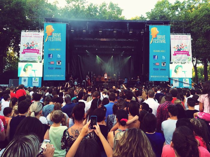 Concert Frerodelavega Brivefestival