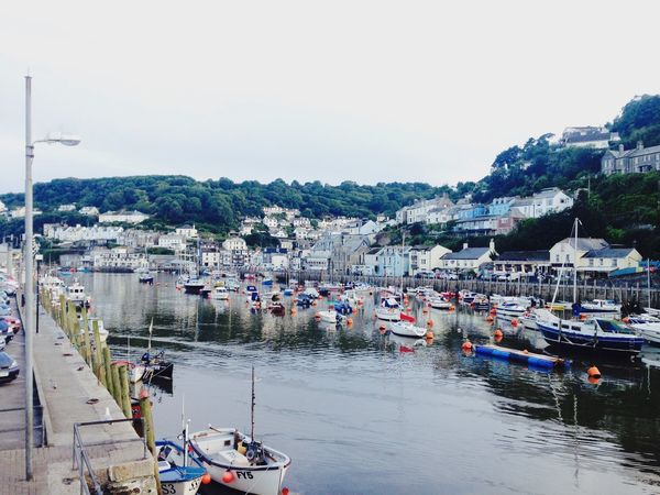 Nautical Vessel Built Structure Transportation River Boat Fishing Village Town Cornish Cornwall Moored Harbor Harbour Harbourside Bridge Outdoors Building Exterior Sea EyeEmNewHere