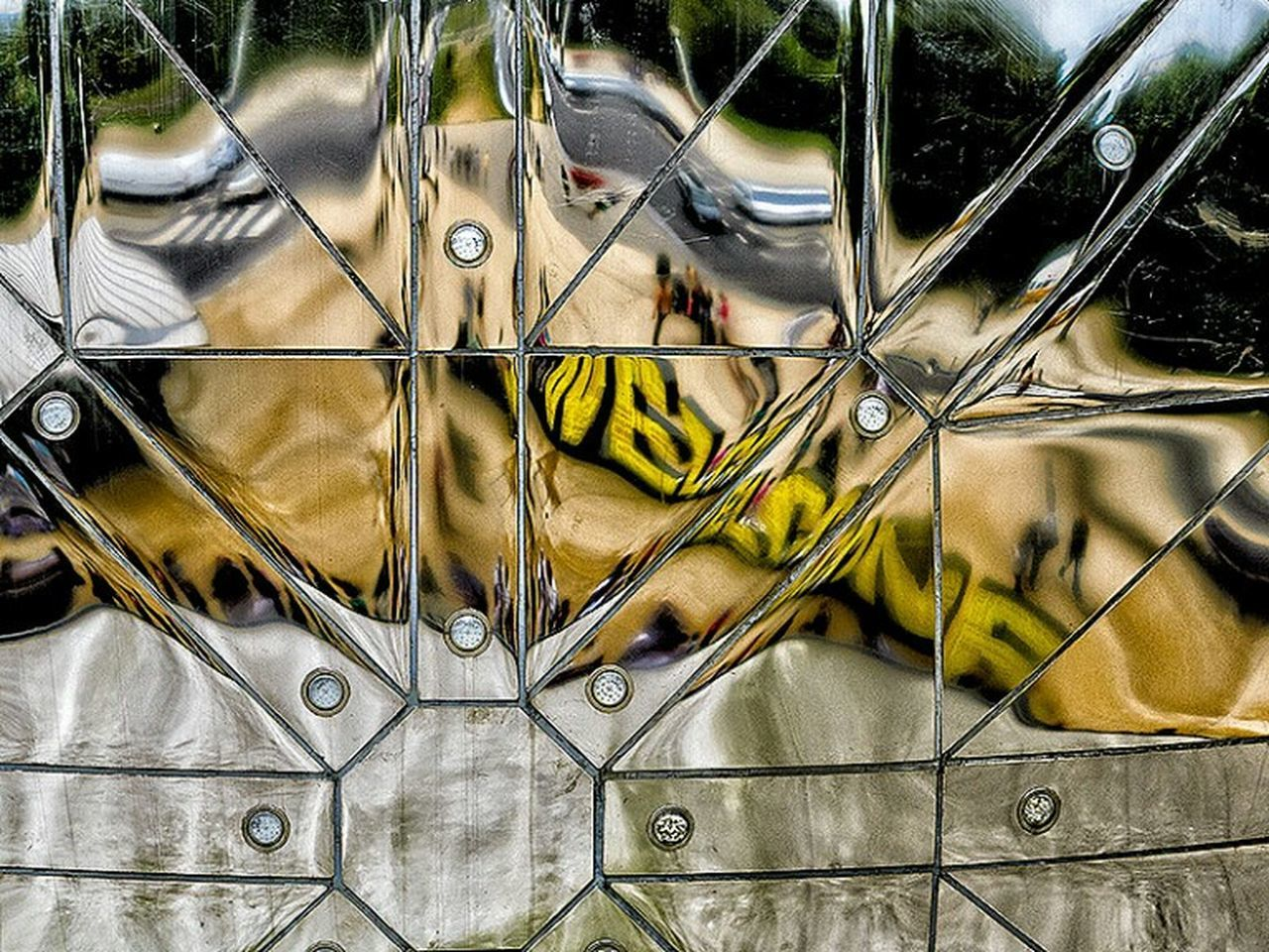 metal, no people, yellow, day, outdoors, close-up