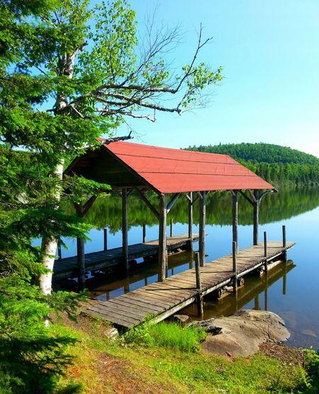 Mic Mac Lake canoe dock! Minnesota Nature Nature Photography Canoe EyeEm Gallery Natural Beauty Relaxing