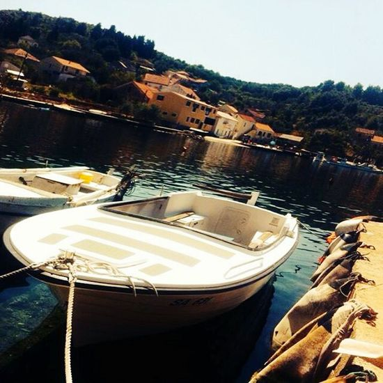 Croatia Malarava RAVA Holiday 2016 Summer Fishingboat First Eyeem Photo