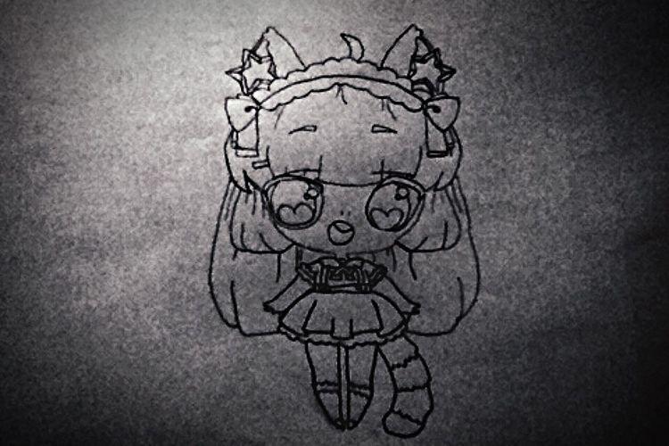 Chibi Girl Chibi Girl Kawaii Cute First Eyeem Photo