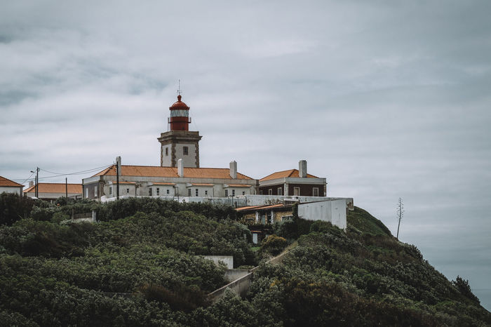 Cabo da Roca Historical Building Lighthouse Travel Photography View Architecture Built Structure Coast No People Ocean Sky Tower Travel Destinations