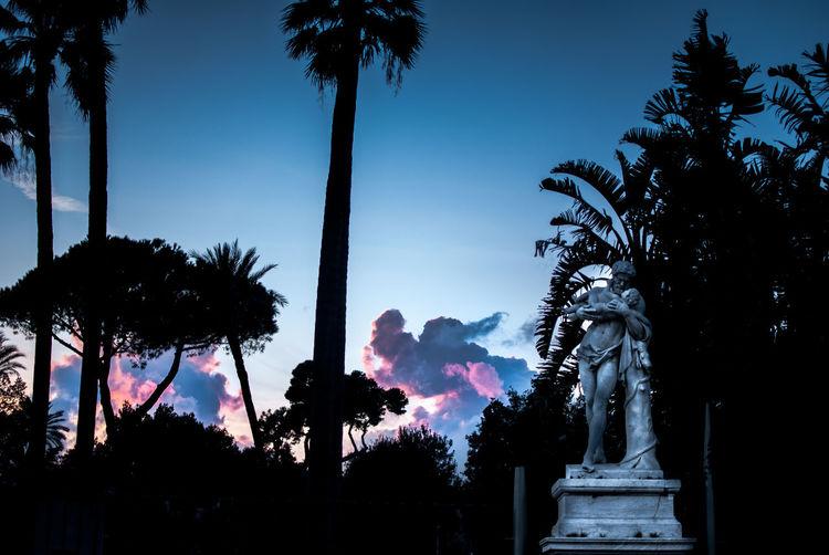 Napoli Nature Nature Photography Sunset In Nap Taking Photos Villa Comunale Napol