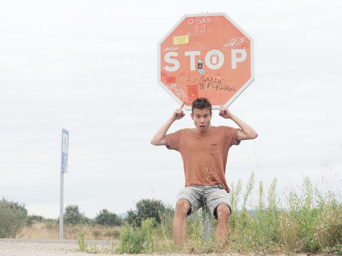 Boy Discontinue No Prohibit  Set Boundaries Set Limits Stop Teen