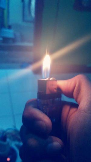 a fire that