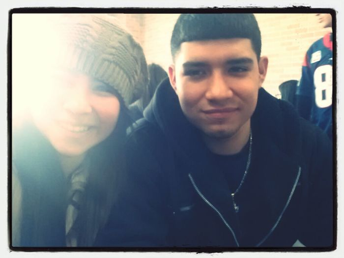 Me & Luisitoo ^.^/ Cant Reaally Tell Me Facee -.- Lol