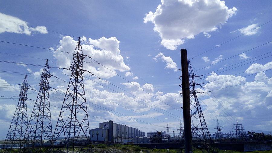 Cloud - Sky Outdoors Cable Technology Factory EyeEmNewHere EyeEm Ready   EyeEm Selects Uitenhage