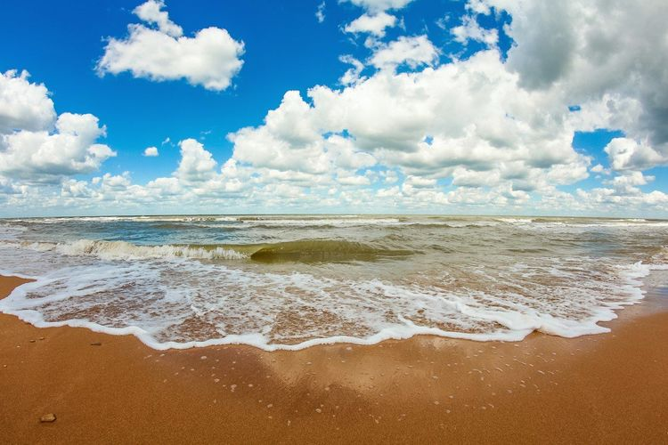 After The Storm Azovsea Beach Blue Cloud - Sky Clouds Colors Of Nature Cumulus Cloud Low Clouds Nature Sand Sea Seascape Sky Summer Vacations Water Waterscape Wave Waves