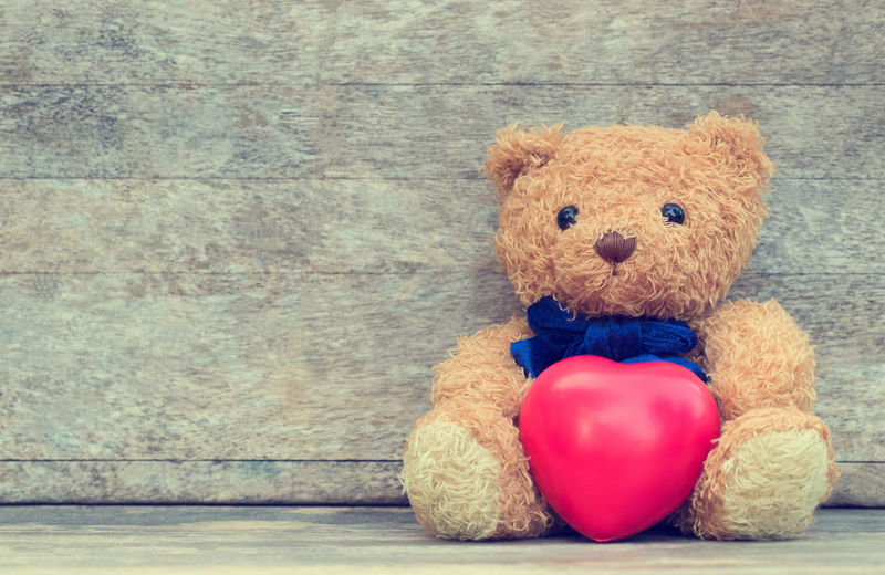 Postcard Bandage Blue Brown Childhood Close-up Cute Design Indoors  Nostalgia People Representation Single Object Sitting Softness Still Life Stuffed Toy Teddy Bear Toy Wall - Building Feature