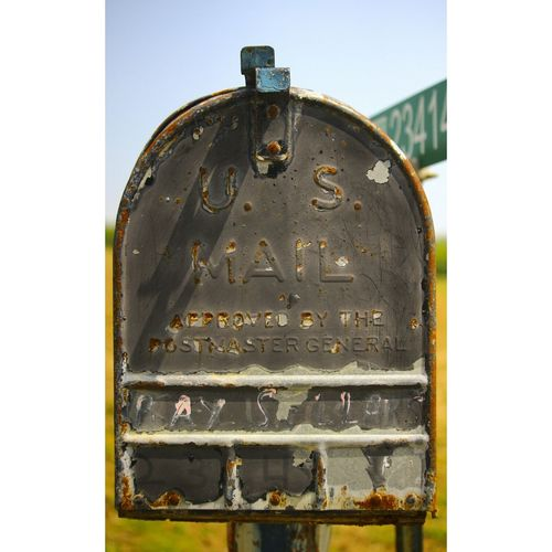 Keepin' it old school Vintage Mailbox Old Old-fashioned Rustygoodness