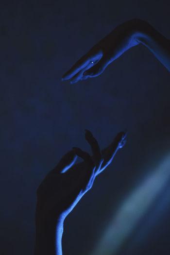 Space in hands Illusion Dark Darkness Light Hand Hands Human Hand Witch