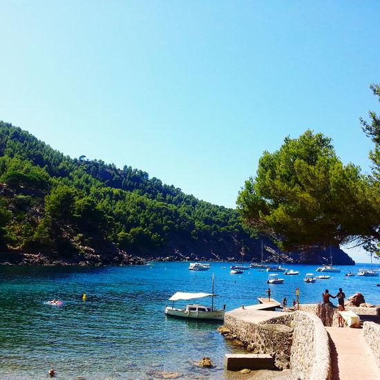 Enjoying The Sun Summer Holidays Beach Mallorca