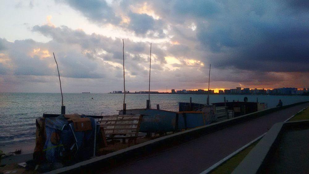Cloud - Sky Sky Travel Sea Water Day No People Brasil ♥ Brazil Brazil ❤ Maceió Maceiobeach Maceió, AL