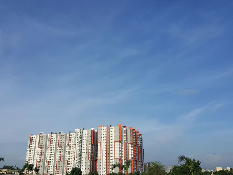 Sky Samsung Galaxy S6 Edge .. unedited photo... amazing blue sky today...