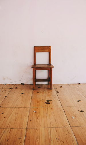 Old wooden chair in the abandoned room Chair Old Old Chair Abandoned Abandoned Room Empty Indoors  No People Day