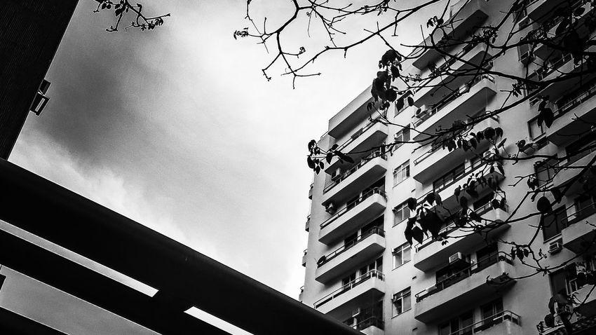 menos cor, por favor... J7primephotography Rio De Janeiro Brazil EyeEmNewHere Bw Pb City Sky Architecture Building Exterior Built Structure Office Building Tall - High Urban Skyline Residential District Infrastructure Cityscape