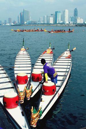 Dragon Boat Race Photowalk Exercise Race Race For Life Dragonboatfestival Dragonboatraces Roxas Boulevard