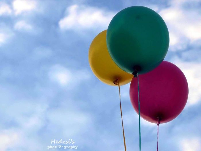 Balloon Balloons Cheer Cheerfulness Child Childhood Children Cloud - Sky Colorful Colours Fun Hanging Out Happynewyear Multi Colored Outdoors Volor Young