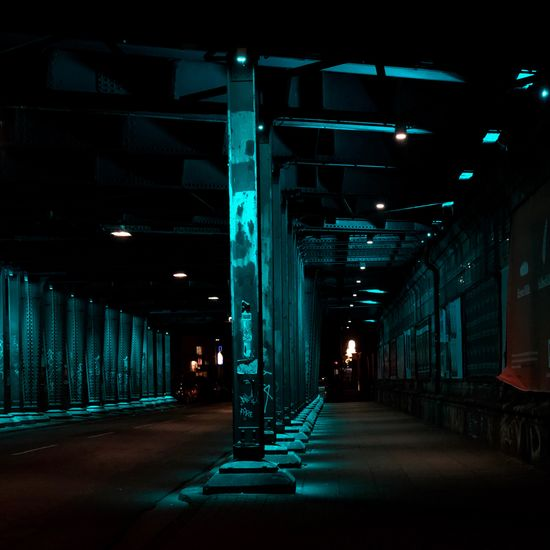 Architecture Built Structure Direction Illuminated The Way Forward Lighting Equipment Night In A Row City Light No People Road Footpath