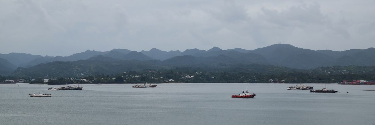 Ships Figi Suva Port Harbour Boat Boats Seascape Landscape Landscape_Collection