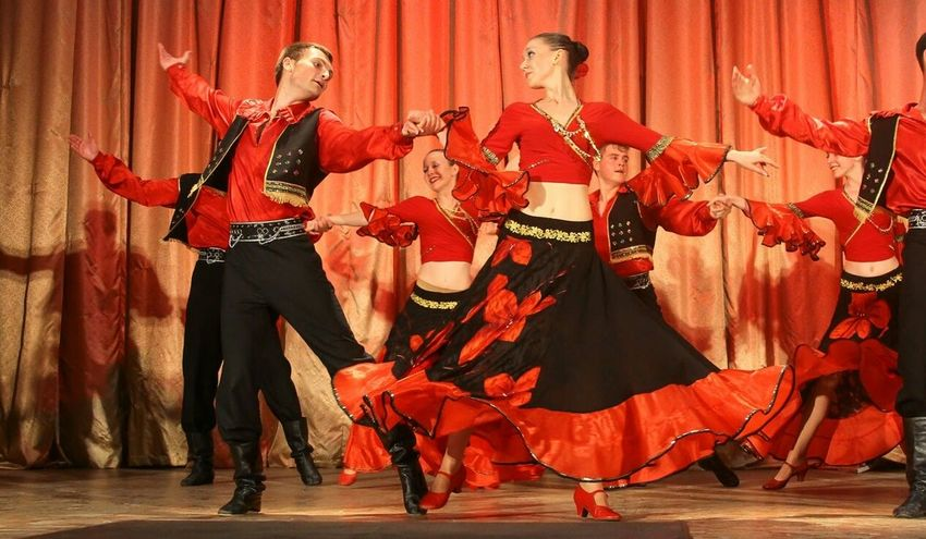 EyeEmNewHere Gypsy Folk Dance Dance
