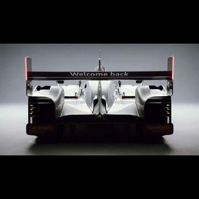 Welcome back @PorscheRacing to @24heuresdumans - can't wait to see the 919 in action! Let's get our Lemans on! 24LM
