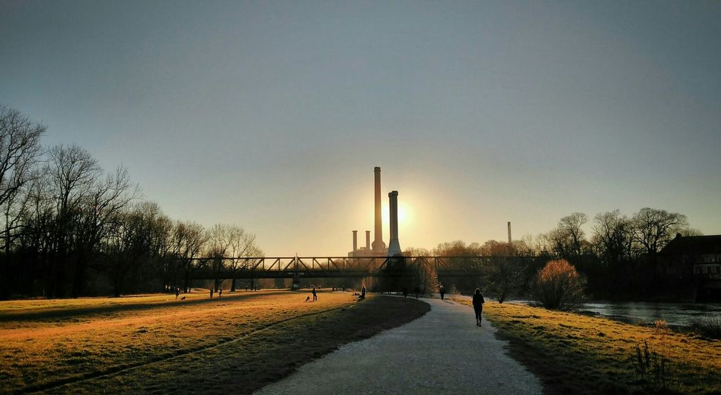Isar Walking Around Nature Clouds And Sky München Naturelovers Cityscapes Urban Nature Soaking Up The Sun Sunset