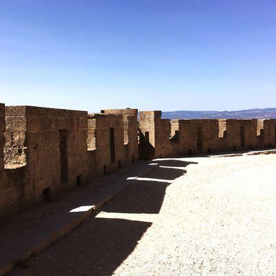 Chemin de ronde Carcassonne Shadow Castle Medieval Sun Sky Stones Timbearlake