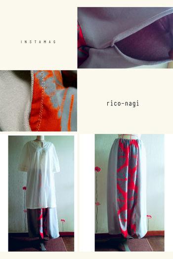 着物リメイク出来ました♪ https://m.facebook.com/story.php?story_fbid=1940081122929555&substory_index=0&id=1646489745622029 Fashion Handmade Rico-nagi Kimono リメイク サルエル