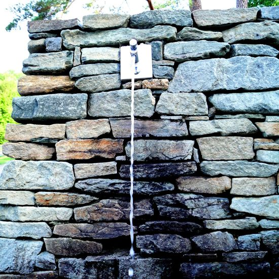Running water Hvervenbukta Quenching My Thirst  Faucet Running Water Water Day No People Stone - Object Solid Wall Pattern Nature Stone Stone Material Textured  Stone Wall