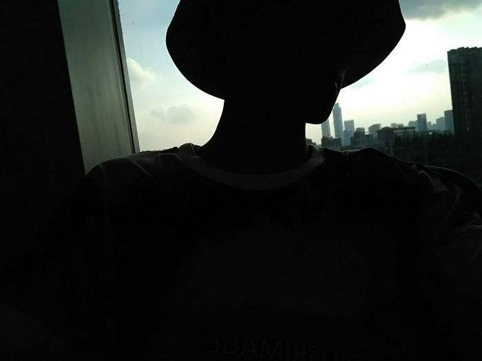 Silhouette City Sky