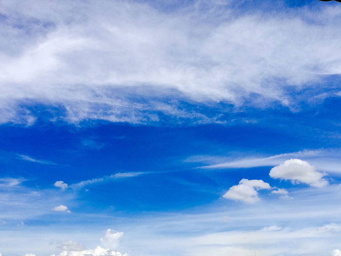 Backgrounds Beauty In Nature Blue Cloud - Sky Day Full Frame Idyllic Low Angle View Nature No People Outdoors Scenics Sky Sky Only Tranquil Scene Tranquility