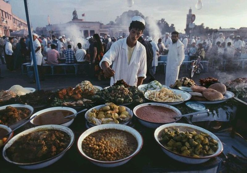 In Morroco Elegance Everywhere Maroccofood Love ♥