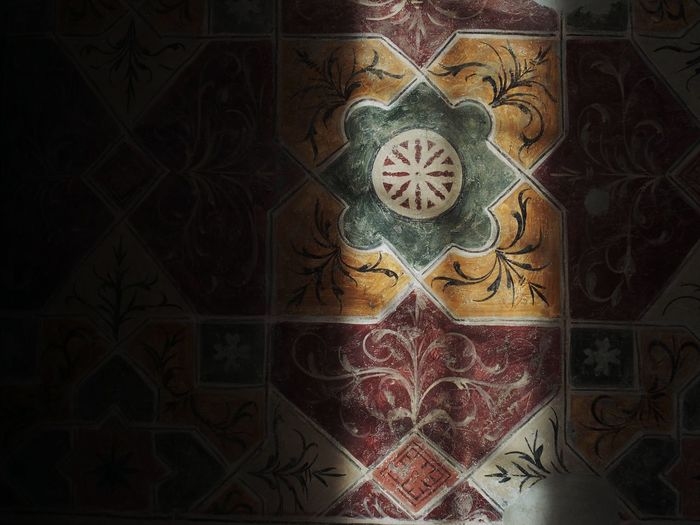 Full frame shot of floral pattern