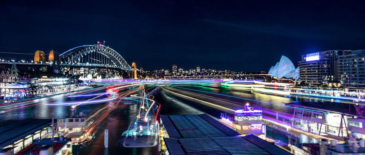 Vivid Sydney Ferries Capturing Movement EyeEm Bestsellers