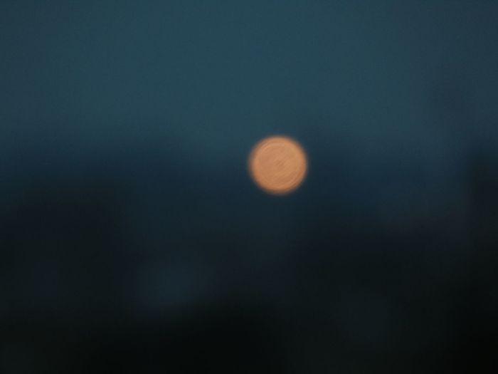 Night Nature Tranquility Outdoors Blur Blurry Blue Light Minimal
