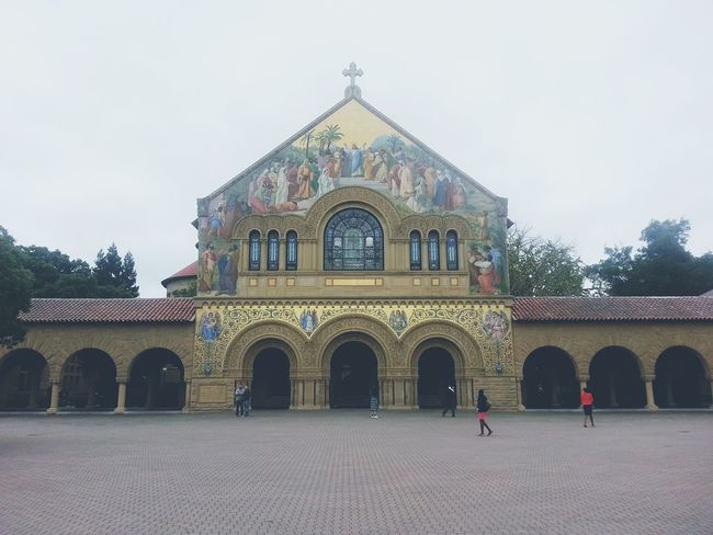Holiest of Holy Chapel Standford Ivey League University Traveling Cali America Architecture