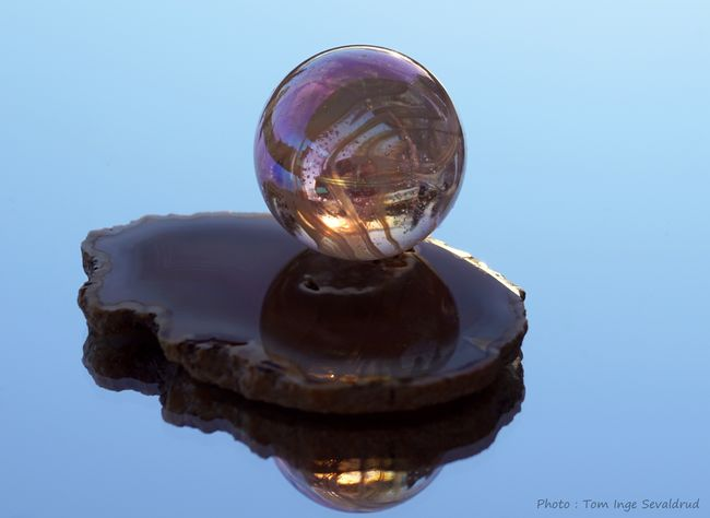 Marble Agate Photoart Creativephoto Reflection Sphere Nature No People Close-up