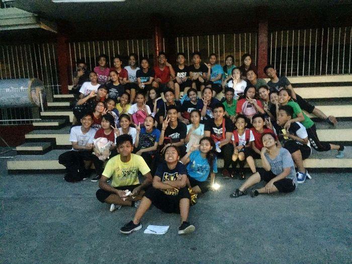Cheerdance Yellow Team Smhs Sumulong Memorial High School
