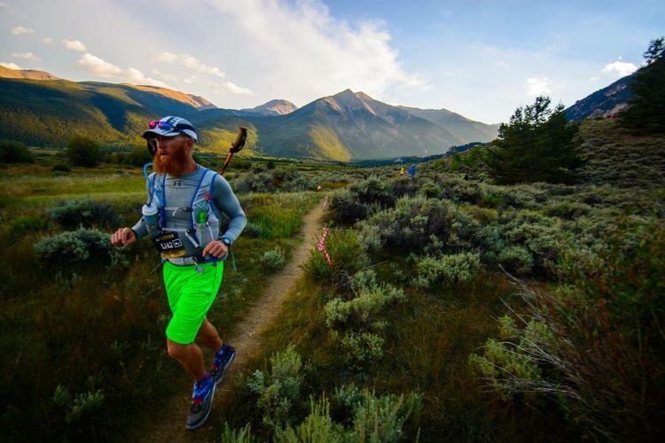 Leadville 100. Trail Running Running Mountains Leadville,co Ultramarathon People And Places