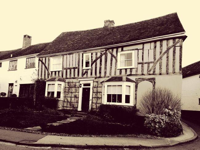 Suffolk Lavenham Building House beams Country