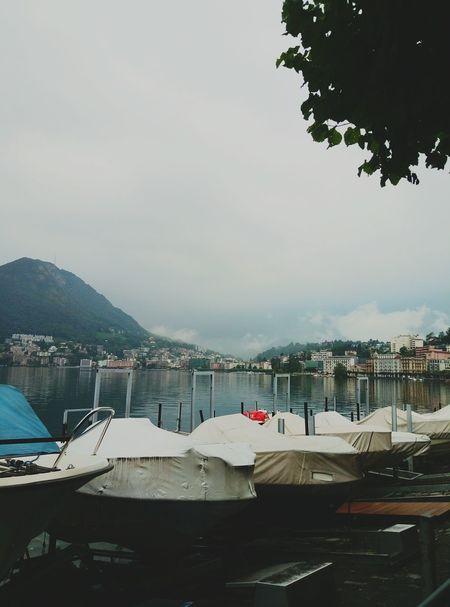 Luganolake Comolake Lake Fog Switzerlad Morning Trevel Lugano Mountain Lugano, Switzerland Alps Switzerland Love Alps